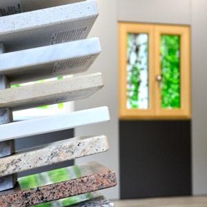 Ausstellungssortiment Fensterbänke