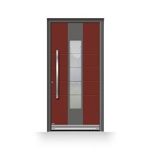 Hauseingangstür von Pirnar mit Sicherheitsglas